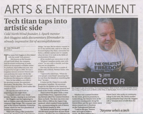 Ottawa Business Journal Article