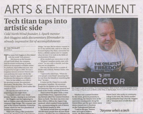 Ottawa Business Journal Article
